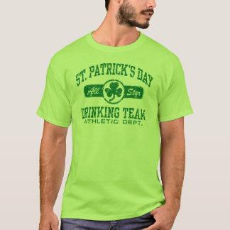 St Patrick Tagestrinkendes Team T-Shirt