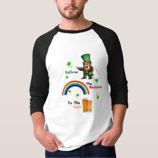 St Patrick Tagesweg-Kobold T-Shirt