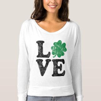 St Patrick TagLiebe Kleeblatt-Iren T-shirt