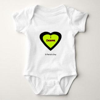 St Patrick TagUCreate Vorlagen Baby Strampler