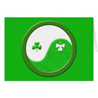 St Patrick trifft Taoismus Karte