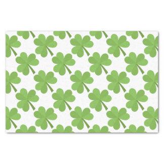 St- PatrickKleeblatt-Iren-Irland-Klee-Muster Seidenpapier