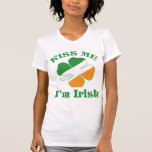 St. Patricks Day küssen mich Shirt