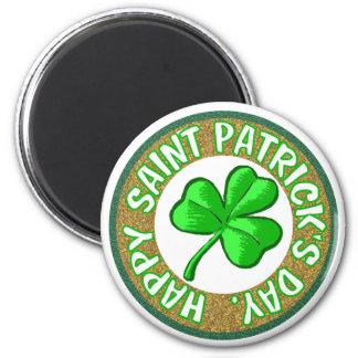 St. Patricks Day-Magnet Runder Magnet 5,1 Cm