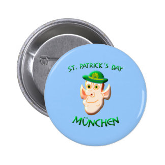 St Patricks Day München Buttons