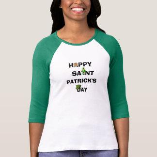ST. PATRICKS DAY-Spitze T-Shirt