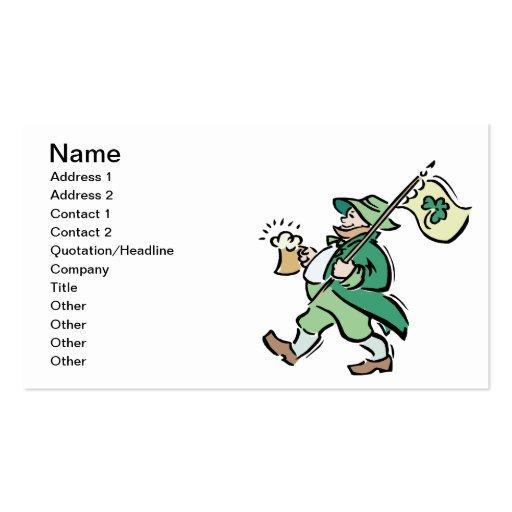 St. Patricks Day Visitenkarten Vorlagen