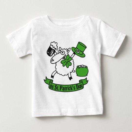 St Patricks sheep Baby T-shirt