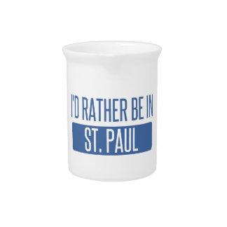 St Paul Getränke Pitcher