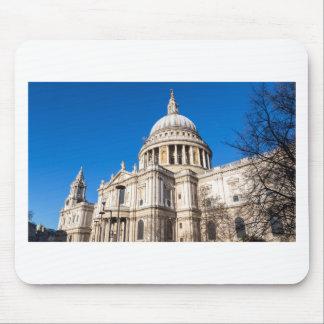 St Paul Kathedrale London mit blauem Himmel Mousepad