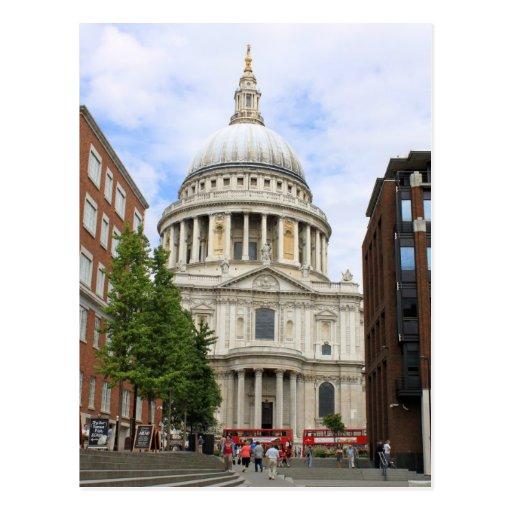 St Paul Kathedrale, London Postkarten