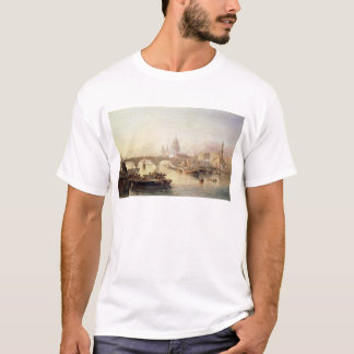 St Paul Kathedralen-und London-Brücke T-Shirt