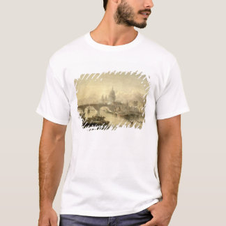 St Paul Kathedralen-und London-Brücke von der SU T-Shirt