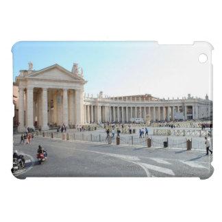 St Peter Basilika und Spalten in der Vatikanstadt. iPad Mini Hülle