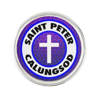 St Peter Calungsod Anstecknadel