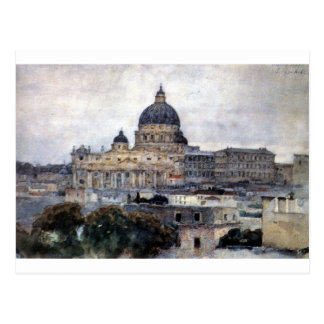 St Peter Kathedrale in Rom durch Vasily Surikov Postkarte