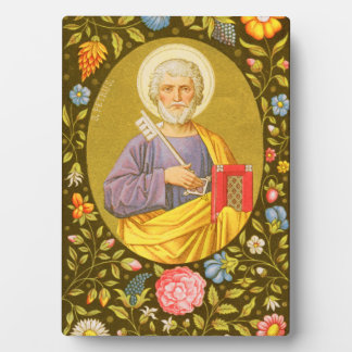 "St Peter (P.M. 07) 5"" x7"" Plakette #2 mit Gestell Fotoplatte"