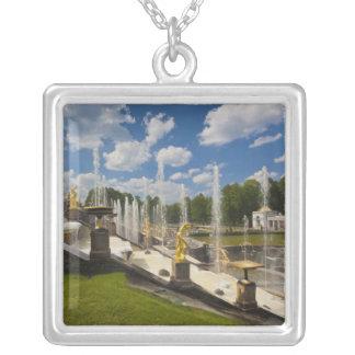 St Petersburg, großartige Kaskadenbrunnen 6 Versilberte Kette