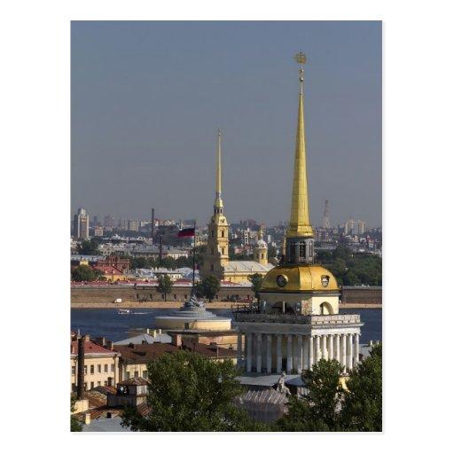 St. Petersburg, Russland Postkarte