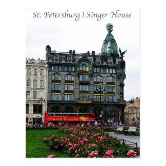 St. Petersburg, Sänger-Haus Postkarten