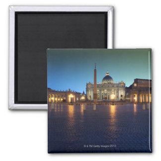 St- Petersquadrat, Rom, Italien Quadratischer Magnet
