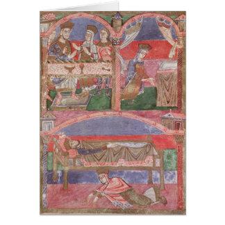 St. Radegund am Tisch von Clothar I Karte