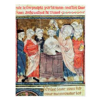 St. Remigius, Bischof von Reimstaufen Postkarte