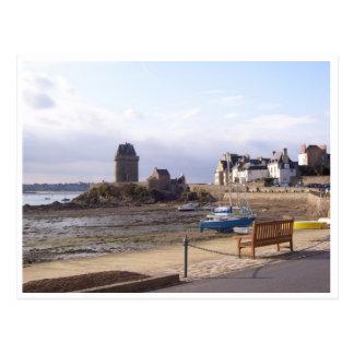 St. Servan, Bretagne, Frankreich Postkarte