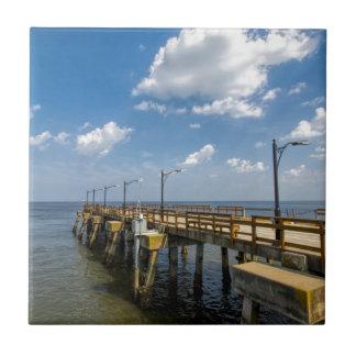 St Simon Insel-Georgia-Öffentlichkeits-Pier Fliese