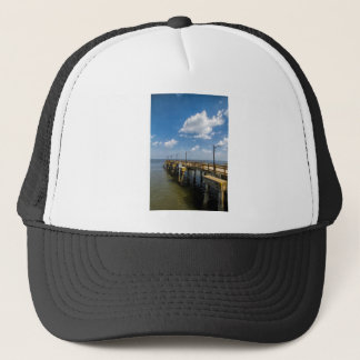 St Simon Insel-Georgia-Öffentlichkeits-Pier Truckerkappe