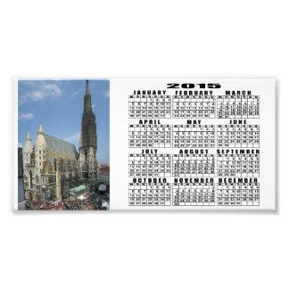 St Stephen Kathedrale, Wien Österreich Fotodruck