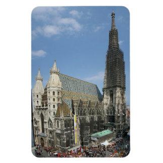 St Stephen Kathedrale, Wien Österreich Rechteckige Magnete