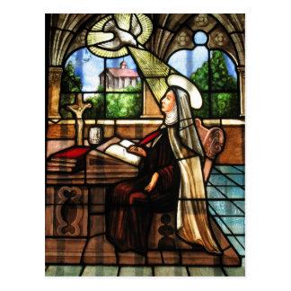 St Teresa von Avila (3) Postkarte