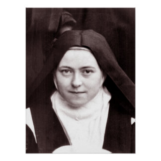 ST. THERESE VON LISIEUX POSTER