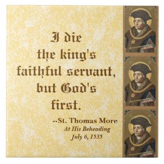 St Thomas berühmtes Zitat mehr (SAU 026) Keramikfliese