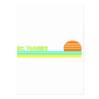 St Thomas Postkarte