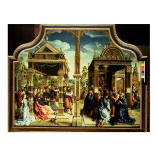 St Thomas und St MatthewAltarpiece Postkarte
