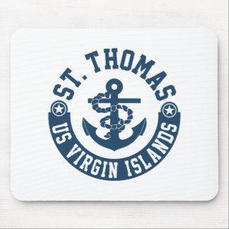 St Thomas US. Die Jungferninseln Mauspads