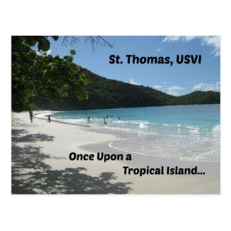 St Thomas, USVI Postkarte