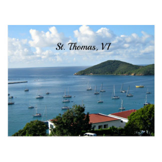 St Thomas, VI Postkarte