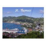 St- Thomasansicht Postkarte