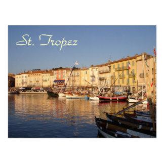 St- Tropezpostkarte Postkarte