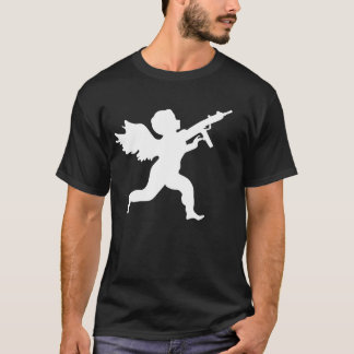 ST.-VALENTINSTAG-MASSAKER-GEWEHR-TOTING ENGEL T-Shirt