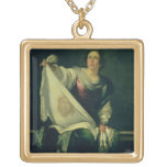 St.-Veronica, 1625-30 (Öl auf Leinwand) Schmuck