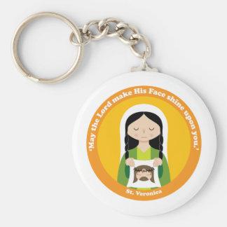 St.-Veronica Standard Runder Schlüsselanhänger