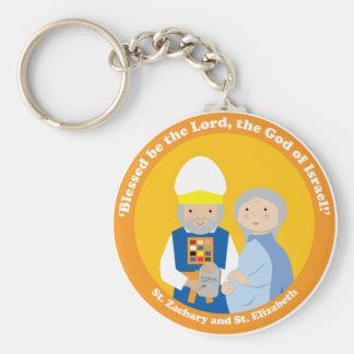 St. Zachary und St. Elizabeth Schlüsselanhänger