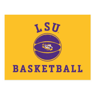 Staat 4 LSU Basketball-| Louisiana Postkarte