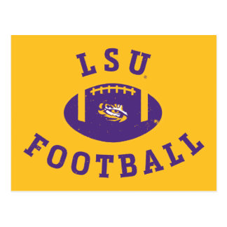 Staat 4 LSU Fußball-| Louisiana Postkarte