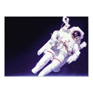 Staat-Astronaut 12,7 X 17,8 Cm Einladungskarte