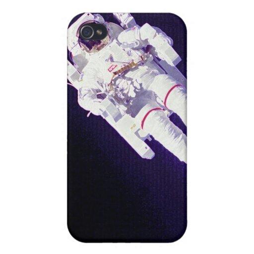Staat-Astronaut iPhone 4 Case